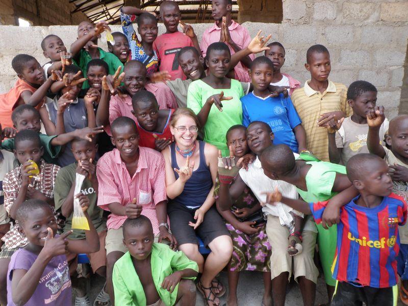 Katharyn in Ghana