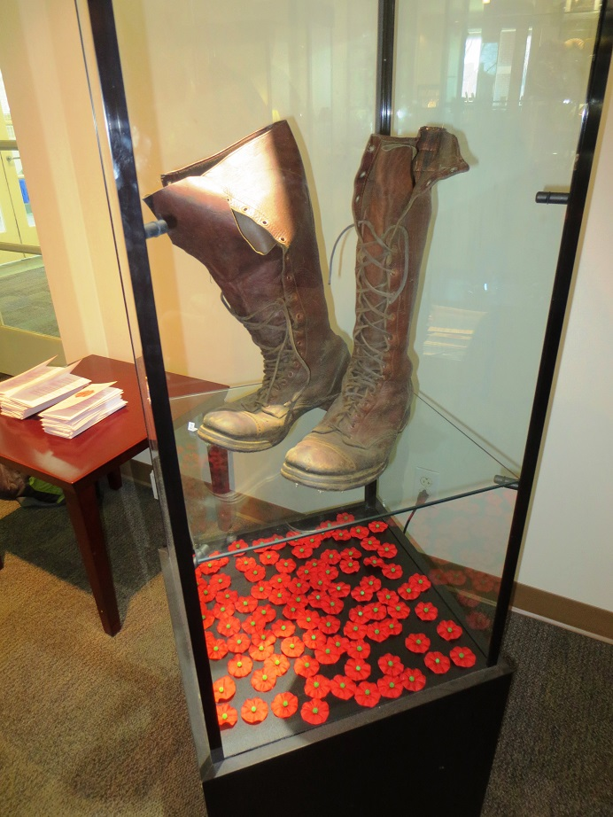 Boots in WWI case